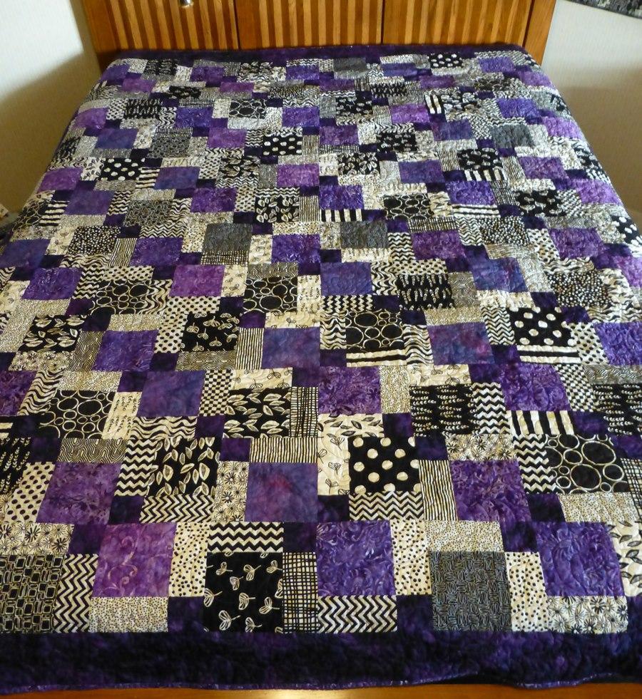 Purple for Northwestern! | Mrs. So & So : purple and white quilt - Adamdwight.com